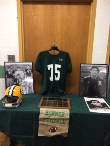 Ken DeFeo athletic memorabilia